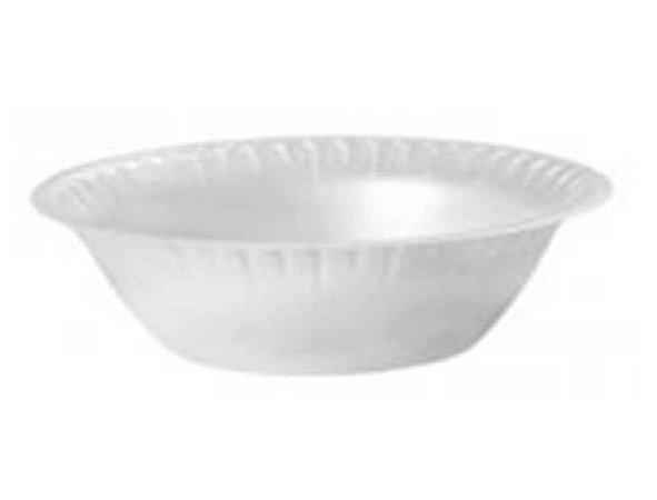 Prato fundo tipo tigela 15cm branca c/ 10 unidades - Minaplast