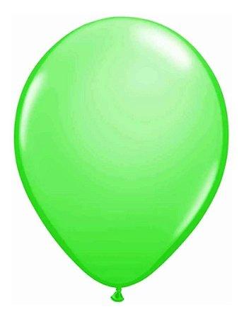 Balão nº 7 Buffet Redondo Verde c/ 50 Un - Art Latex