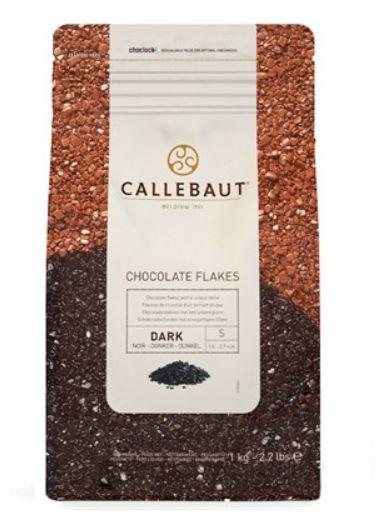 Flocos de Chocolate Split 4D Chocolate Meio Amargo 1kg - Callebaut