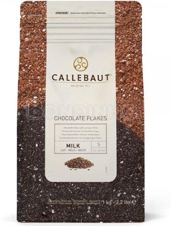 Flocos de Chocolate Ao Leite Split 4D 1kg - Callebaut