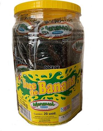 Doce de Banana 20 Unidades - Manamel