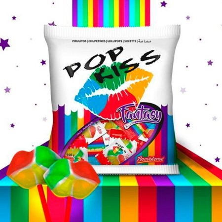Pop Kiss Fantasy 500g - Boavistense
