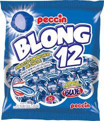 Pirulito Blong 12 Blue 600gr - Peccin