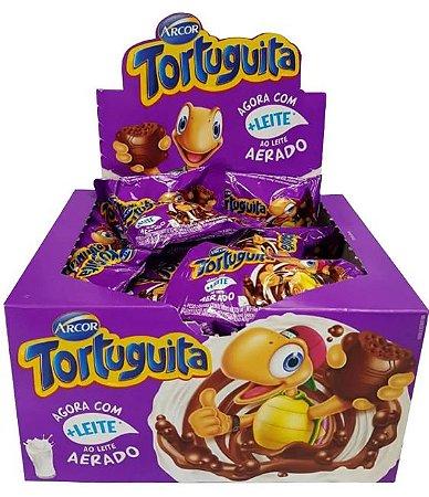 Chocolate Tortuguita Ao Leite Aerado 14g c/24 - Arcor