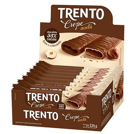 Chocolate Trento Crepe Avelã c/16 - Peccin