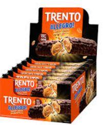 Chocolate Trento Allegro Choco Dark Amendoim c/ 16 Un - Peccin