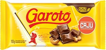 Tablete Garoto Caju 90g - Garoto