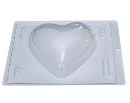 Forma Especial Com Silicone Coração 500g- Bwb