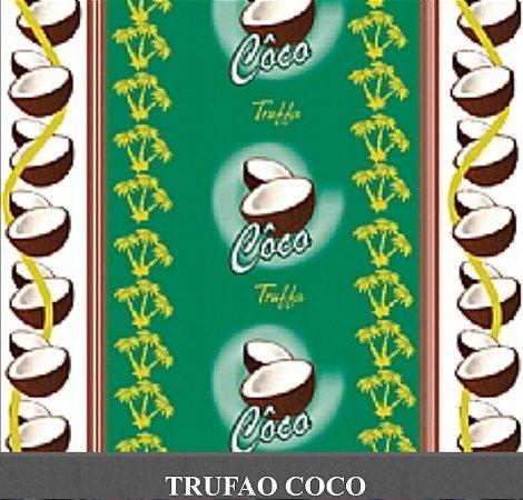 Embalagem  para trufão sabor coco 20x18 cm - Carber