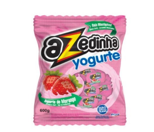 Bala mastigável azedinha yogurte 600g - Riclan