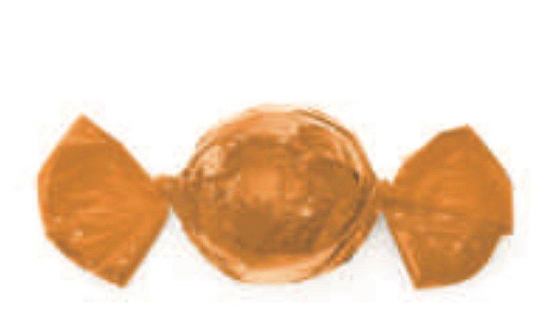 Embalagem para trufão cor Laranja 20x18cm - Carber
