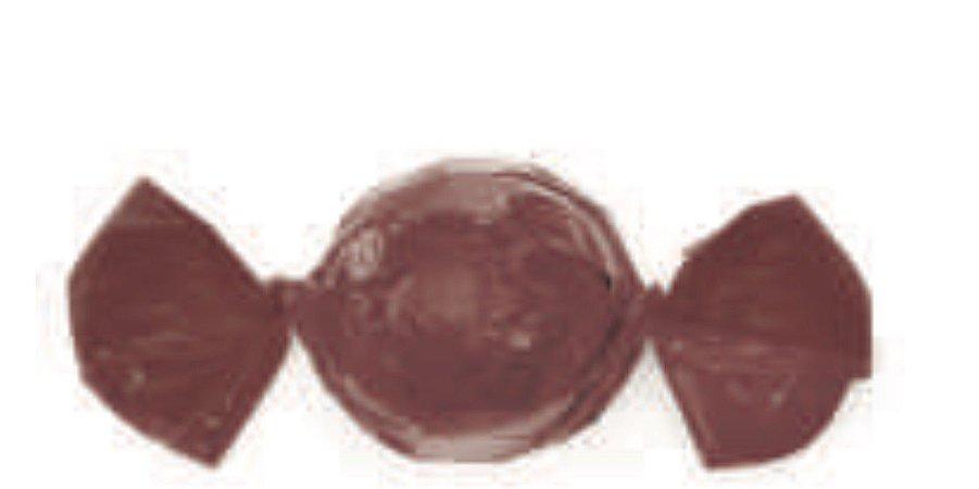 Embalagem para trufão cor Castanho 20x18 cm - Carber
