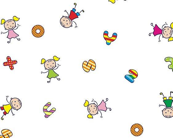 Saco celofane decorado Festa Kids c/ 50 unidades - Packpel