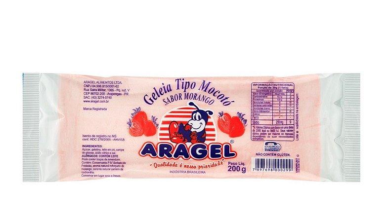 Geleia tipo Mocotó sabor Morango 200g - Aragel