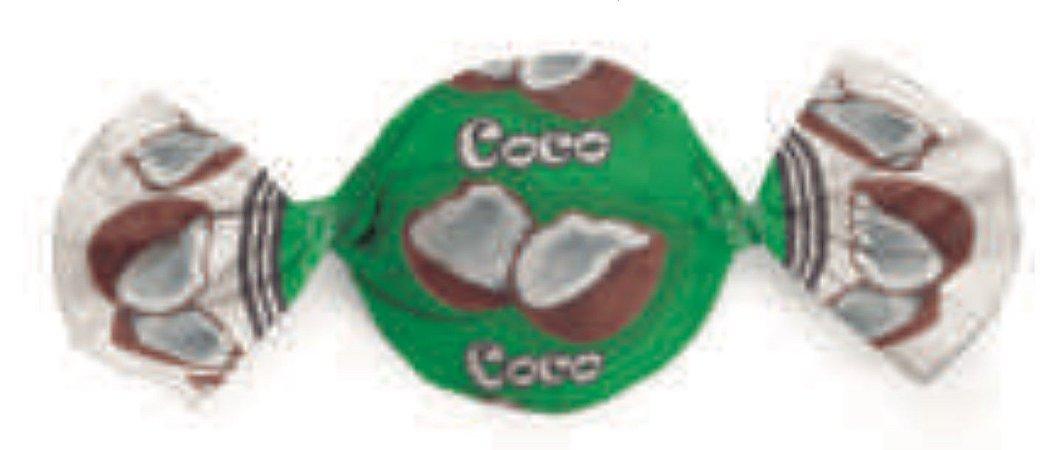 Embalagem para Trufa sabor Coco 15x16cm- Carber