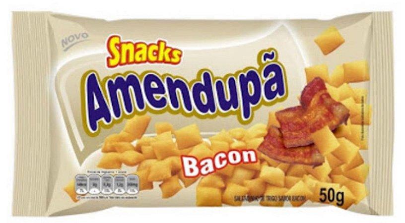 Salgadinho Sabor Bacon cx   c/ 20x50g - Amendupã