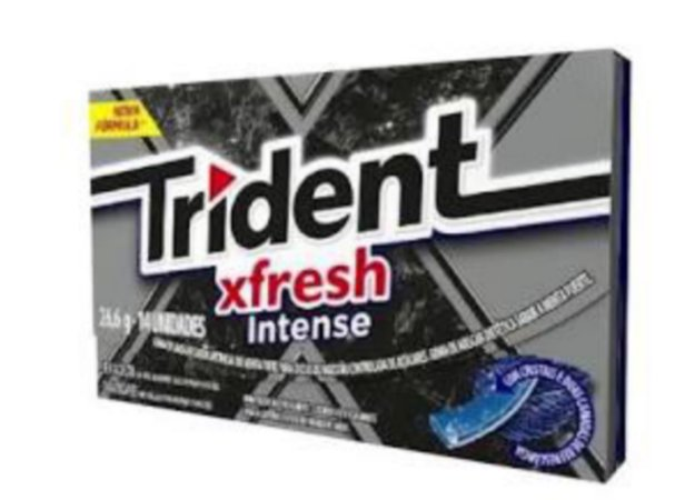 Trident X fresh Intense25,2g c/ 14 un - Adams