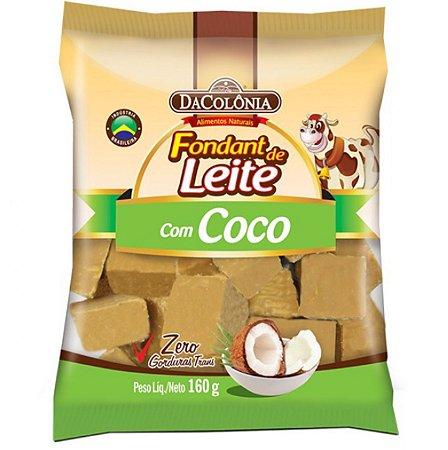 Fondant de leite com coco - Dacolônia