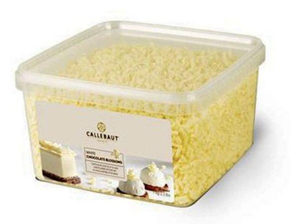 Blossom branco raspas de chocolate belga 1kg - Callebaut