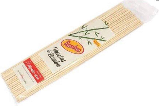Vareta de Bambu para algodão doce - Arco Iris