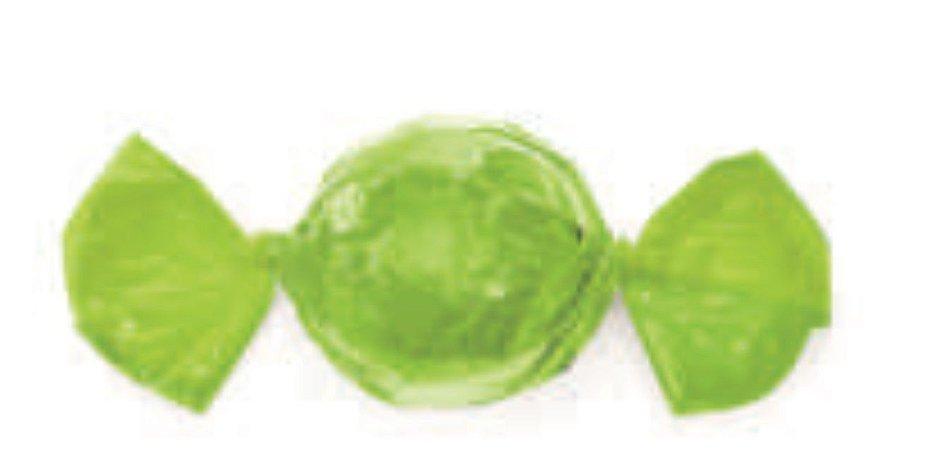 Embalagem para trufa Verde Limão 15x16cm - Carber