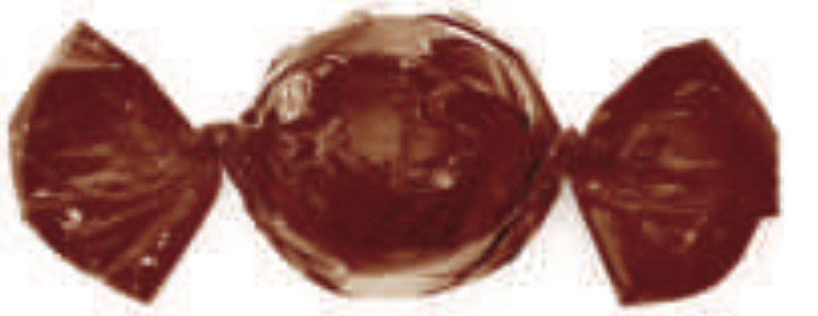 Embalagem para Trufa Castanho 15x16 cm - Carber