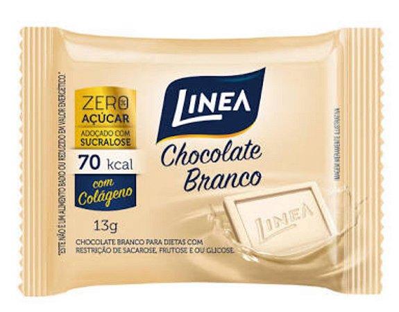 Chocolate Branco Zero Açucar 13g - Linea