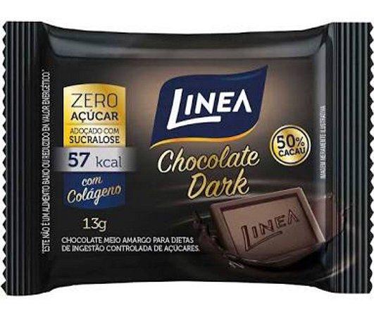 Chocolate Dark zero Açucar 13g - Linea