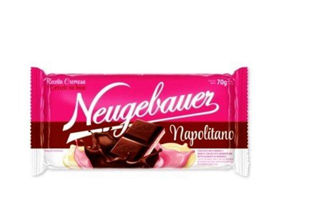 Tablete Chocolate Napolitano 70g- Neugebauer