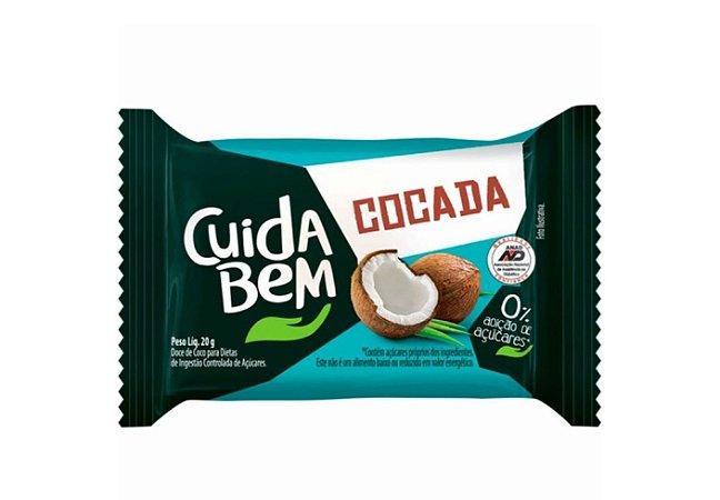Cocada Zero Açucar 20g - Cuida Bem-Santa Helena