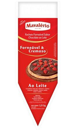 Recheio Forneável Chocolate Ao Leite 1;01kg- Maválerio