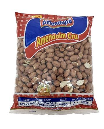 Amendoim cru 500g - Amendupã