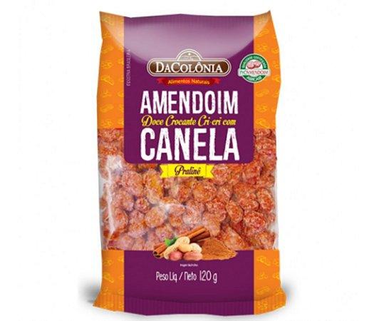 Amendoim doce crocante cri cri  c/canela 120g - Dacolônia