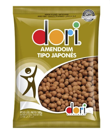 Amendoim Japonês 500G - Dori