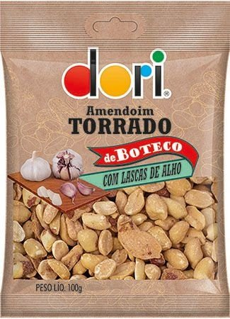 Amendoim Torrado de Boteco 320g - Dori