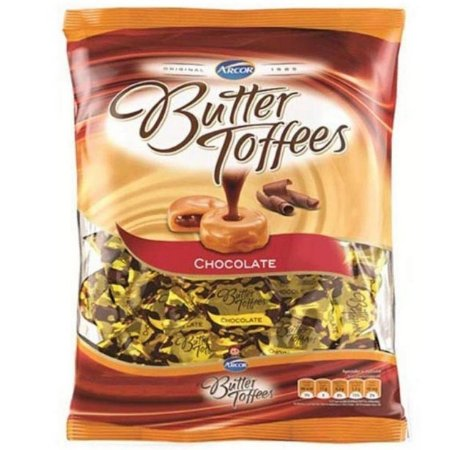 Bala Butter Toffees Chocolate 500G - Arcor