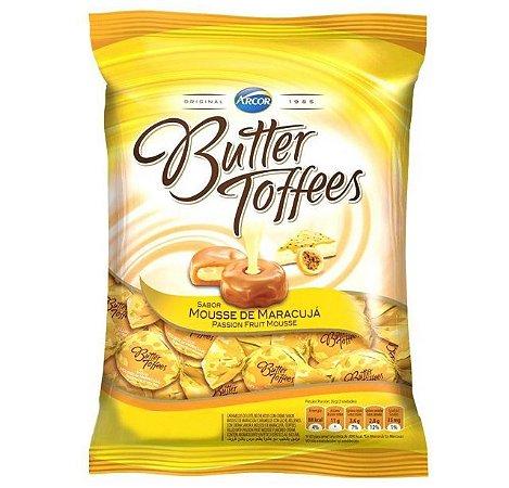 Bala Butter Toffees Maracujá 500G - Arcor