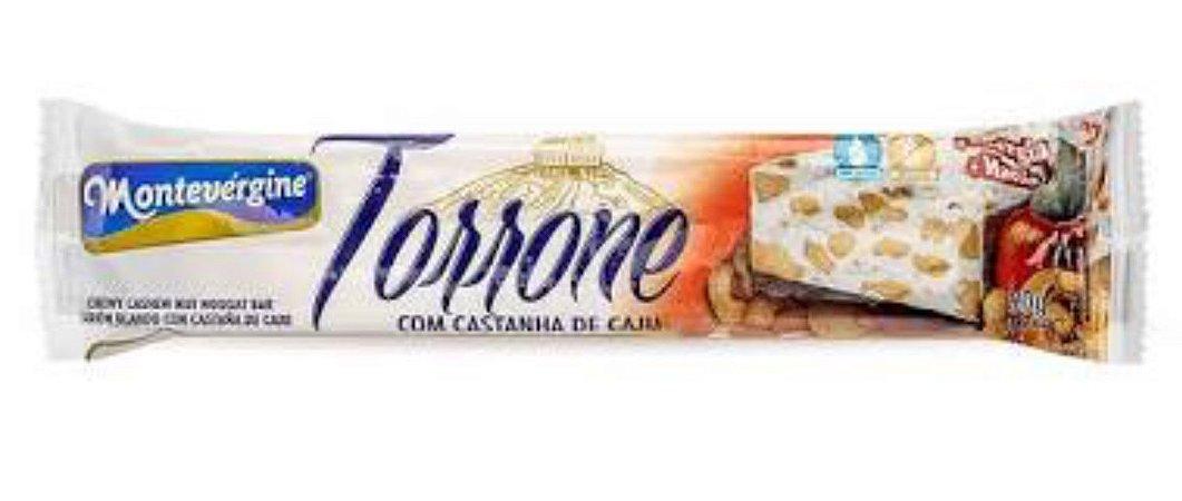 Torrone com Caju 90g - Montevergine