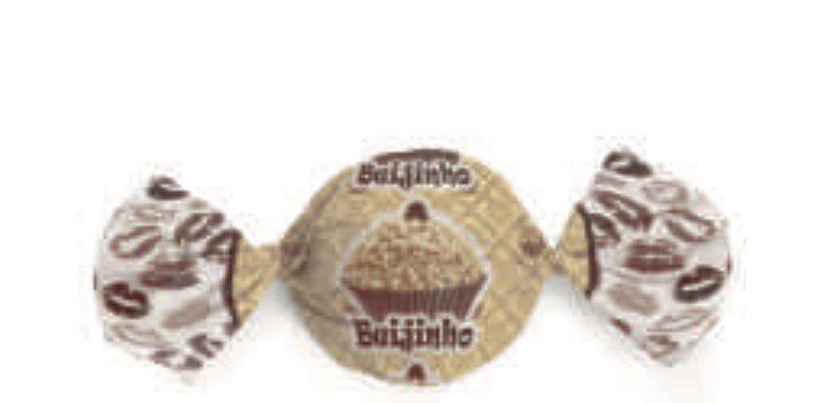 Embalagem para Trufa Beijinho 15x16cm- Carber