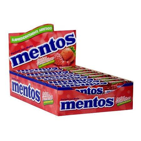 Patilha Mentos Stick Frutas Vermelhas 16 unidades de 38g  - Perfetti
