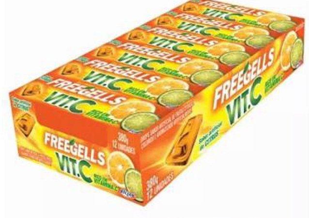 Drops Freegells Vita C Citrus c/12 unid- Riclan