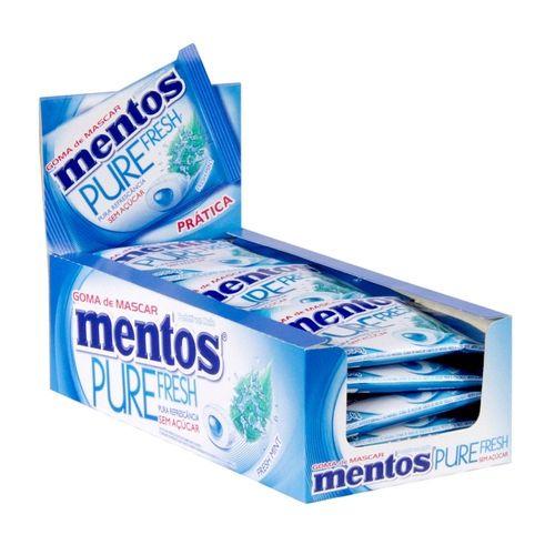 Goma de Mascar Mentos Pure Fresh Mint c/15 - Perfetti