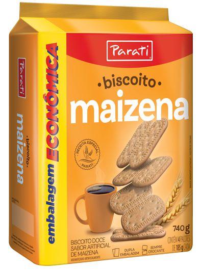 Biscoito Maizena 370g - Parati