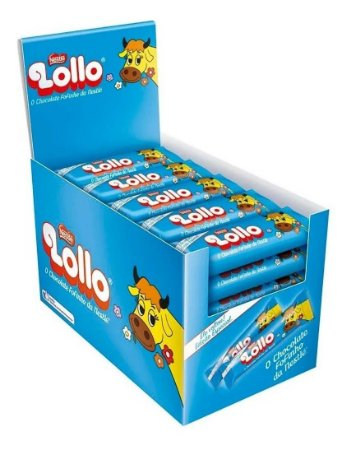 Chocolate Lollo Com 30 Unidades X 28g -  Nestlé