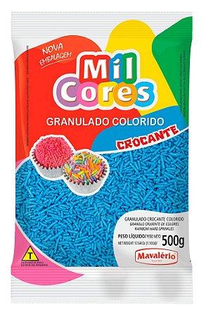 Granulado Crocante Azul Mil Cores 500g - Mavalério