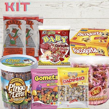 Kit Festa São Cosme Damião Paçoca + Bala + Doces