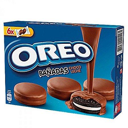 Biscoito Oreo com Cobertura De Chocolate Ao Leite 246g - Importado da Espanha