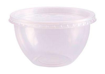 Pote Bowl com tampa 500 ml com 20 unidade - Prafesta