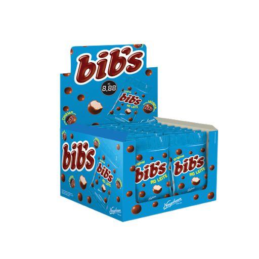Chocolate Bib's ao leite 18 unidades de 40g - Neugebauer
