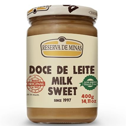 Doce de Leite Milk Sweet 400g - Reserva de Minas